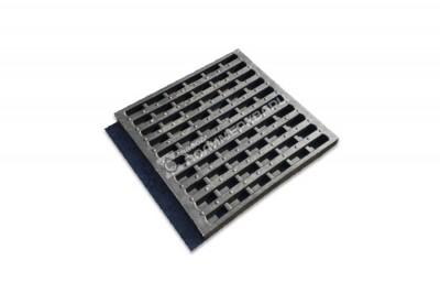 Решетка водоотводная 500х500х40 ячеистая полимеркомпозитная