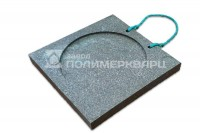 Опорная подушка аутригера квадратная 300*300*3