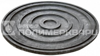 Днище колодца d=750мм h=30мм полимерно-песчаное (полимерпесчаное) композитное