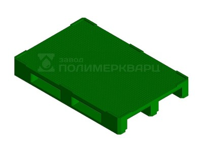 Поддон европаллет KADI-Kompozit 1200x800x150 зеленый