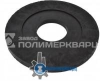 Подковерная подушка большая ПП -61.25.4- полимерпесчаная черная, вес 8 кг