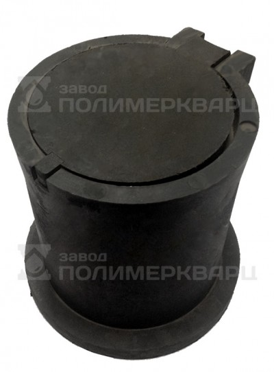 Ковер газовый малый ПП 27.14.24,5- полимерпесчаный черный, вес 10 кг.
