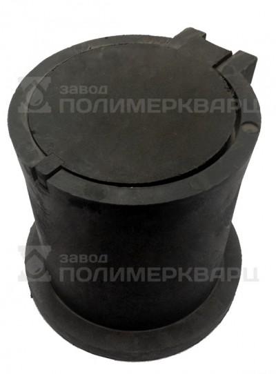 Ковер газовый малый ПП -27.14.24,5- полимерпесчаный черный, вес 10 кг (1)