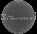 """Люк полимерпесчанный ПП класс """"Л"""" 6 т. Черный (d740мм*h110мм)h=крышки 40 мм, вес 45 кг (1)"""