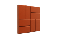 Тротуарная плитка (брусчатка) полимерпесчаная ПП 33*33*3,5 Усиленная