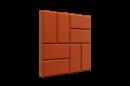 Тротуарная плитка (брусчатка) полимерная (полимерно песчаная) ПП 33*33*2