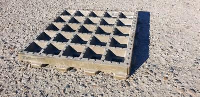 """Газонная решетка полимерпесчаная (полимерно песчаная) для парковки """"Экопарковка"""""""