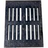 Решетка водоприемная ПП 50.65.50 полимерпесчаная кл. А15 DN500 щелевая, 15 кг